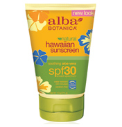 Alba Botanica Hawaiian Aloe Vera Sunscreen SPF30…