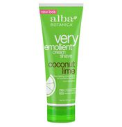Very Emollient Cream Shave Coconut Lime