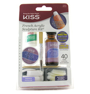 KISS French Acrylic Sculpture Kit (40 Tips)