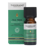 Tisserand Organic Tea Tree Pure Essential Oil 9ml